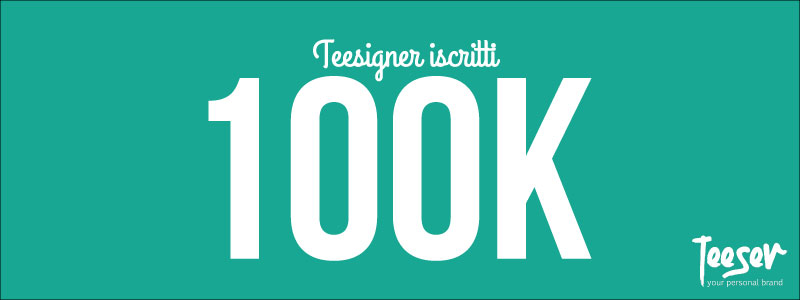 Teeser 100K utenti registati