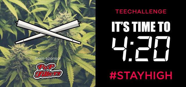 cosa è la cannabis, gli effetti della marijuana, la legalità della cannabis, le origini del 420, il contest su teeser ed il teechallenge con magliette personalizzate