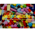 maglietta Music is Medicine