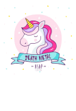maglietta Death Metal Unicorn