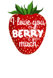 maglietta I love you BERRY much