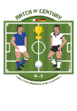 maglietta 8 bit: Match of Century