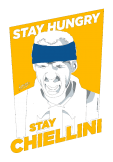 maglietta STAY HUNGRY STAY CHIELLINI - Juventus Edition