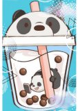 maglietta bubble tea by Panda