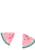 maglietta BE YOURSELF OR EAT A WATERMELON