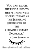 maglietta Luna Lovegood Quote