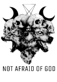 maglietta NOT AFRAID OF GOD by Area420