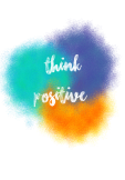 maglietta think positive