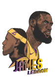 maglietta LeBron James ai Los Angeles Lakers