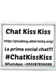 maglietta cover Chat Kiss Kiss