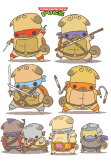 maglietta Teenage Mutant Ninja PUGS