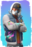 maglietta Fortnite T-Shirt PaintMan