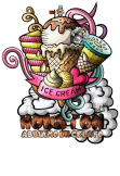 maglietta HOUSTON - Ice Cream