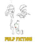 maglietta Pulp Fiction @shadowtshirt