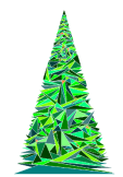 maglietta Triangle tree