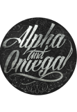 maglietta Alpha and Omega Black