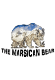 maglietta THE MARSICAN BEAR CLASSIC WHITE