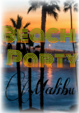 maglietta Beach party