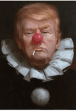 maglietta clown DONALD