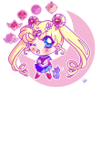 maglietta Sailor Moon Chibi