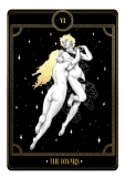 maglietta Tarot Cards - The Lovers