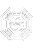 maglietta T-shirt Dharma Initiative of the tv series lost