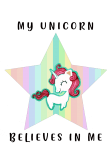 maglietta my Unicorn star