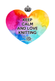 maglietta Love Knitting