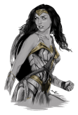 maglietta wonder woman