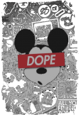 maglietta Micky Mouse Dope