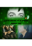 maglietta Let' make it a great green day