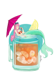 maglietta Mermaid cocktail