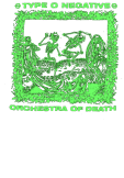 maglietta Type O Negative / Orchestra of Death