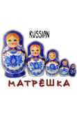 maglietta RUSSIAN MATRIOSHKA