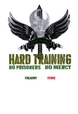 maglietta Hard training green