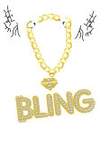 maglietta Bling for true lovers of trap music and money;