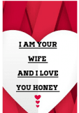 maglietta I am your wife and I love you honey cell, phone, covers,