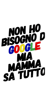 cover MAMMA GOOGLE T-SHIRT