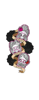 cover Skulls Tattoo Pin Up