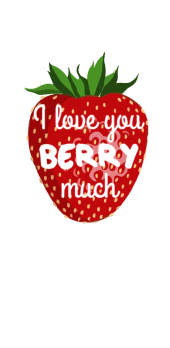 cover I love you BERRY much