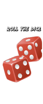 cover roll the dice, taking a chance on life