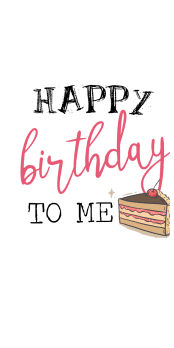 cover my birthday!