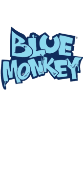 cover the official BlueMonkey tshirt