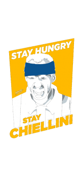 cover STAY HUNGRY STAY CHIELLINI - Juventus Edition