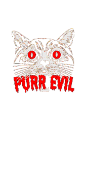 cover purr evil T-Shirt