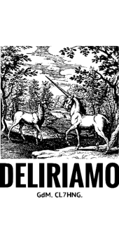 cover Cervo e Unicorno loves Deliriamo