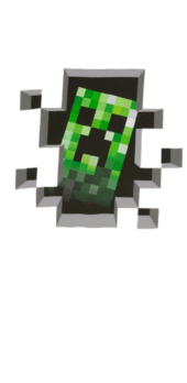 cover Felpa creeper minecraft