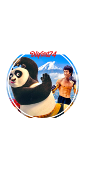 cover Kunfu Panda vs Bruce Lee