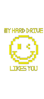cover MY HARD DRIVE LIKES YOU