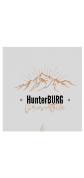 cover HUNTERBURG for kids Who loves Adventure
